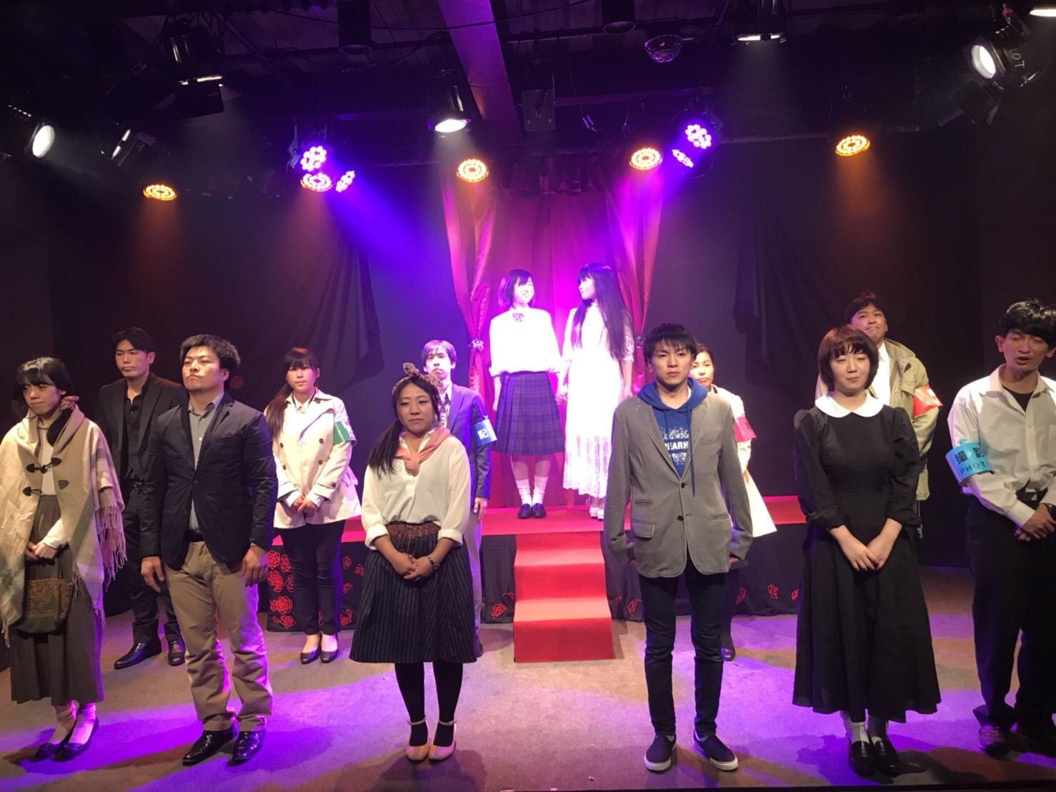 2019年8月公演出演者募集(ノルマ無し、バック有り)